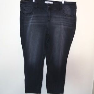 Torrid Size 24 Charcoal Jeggings Skinny Jeans
